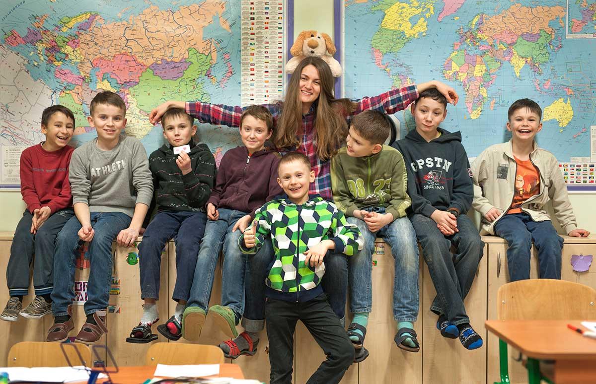 Kinderheim Pokrova, Ukraine