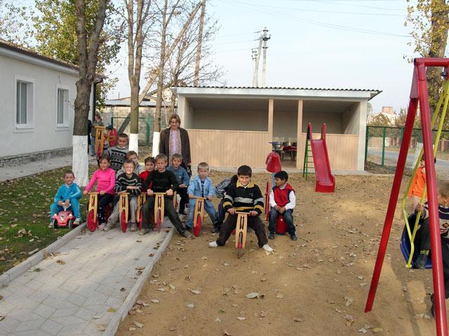 Tageskinderheim in Moldawien