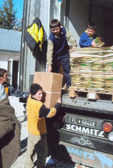 Hilfsgütersendungen