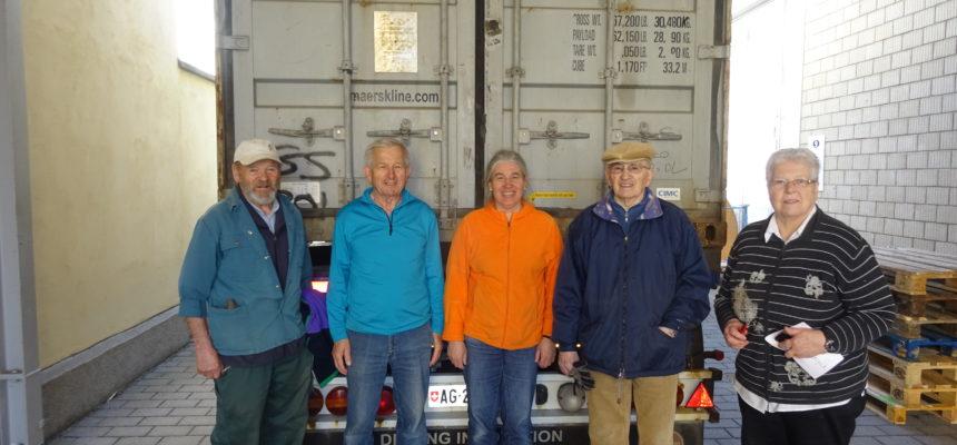 Hilfsgütertransporte in den Kongo und in die Ukraine
