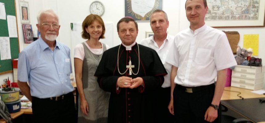 Besuch aus Moldawien und der Ukraine