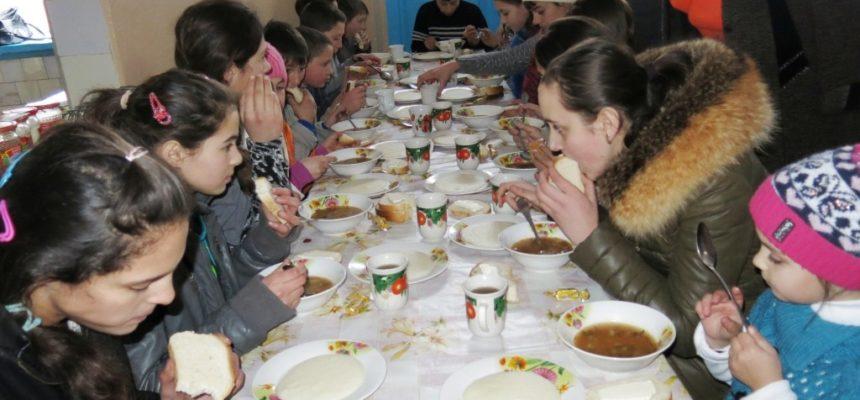 Rettung einer Schule in Moldawien