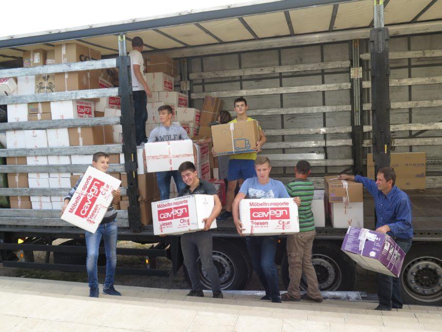 Transport nach Moldawien