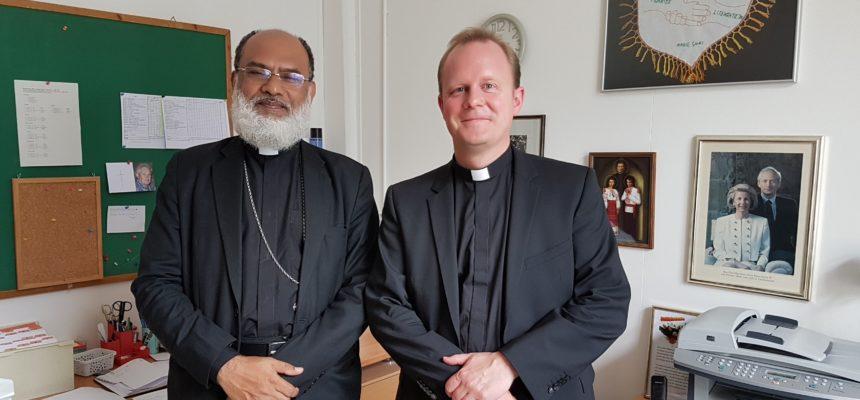 Bischof Mar aus Indien besucht uns