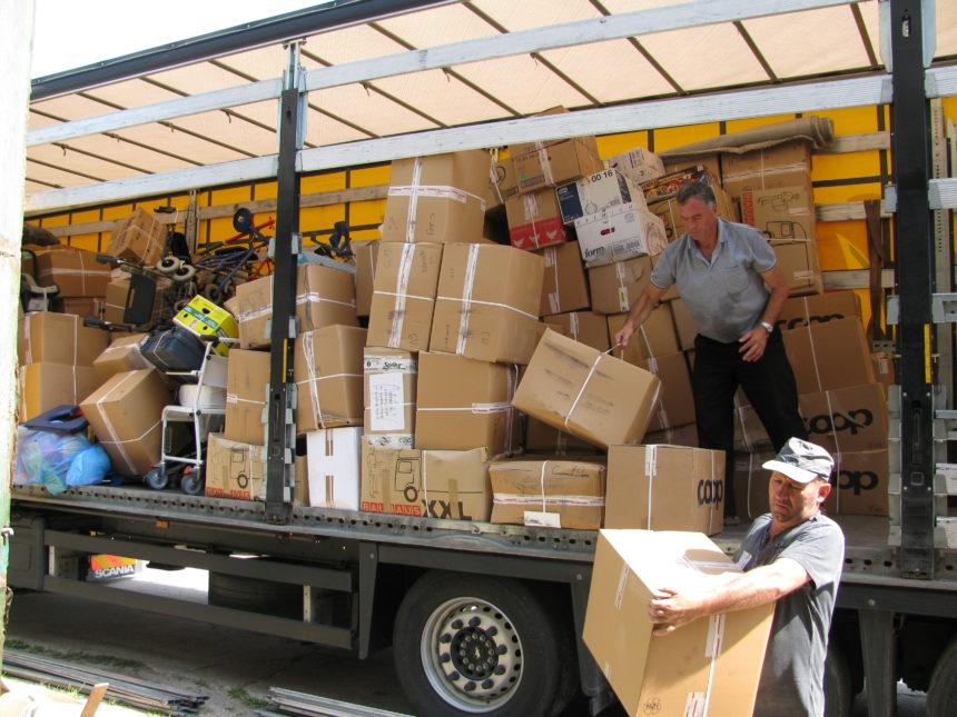 Möbel des Hotel Sylvas gehen nach Rumänien