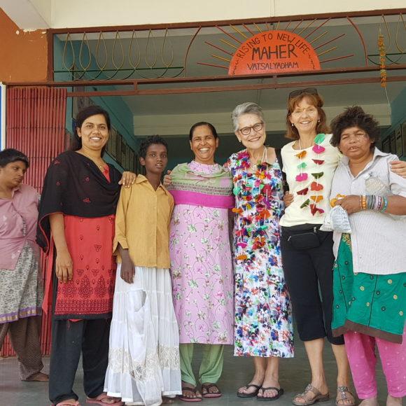 Frauenhaus Maher Vatsalyadham in Indien