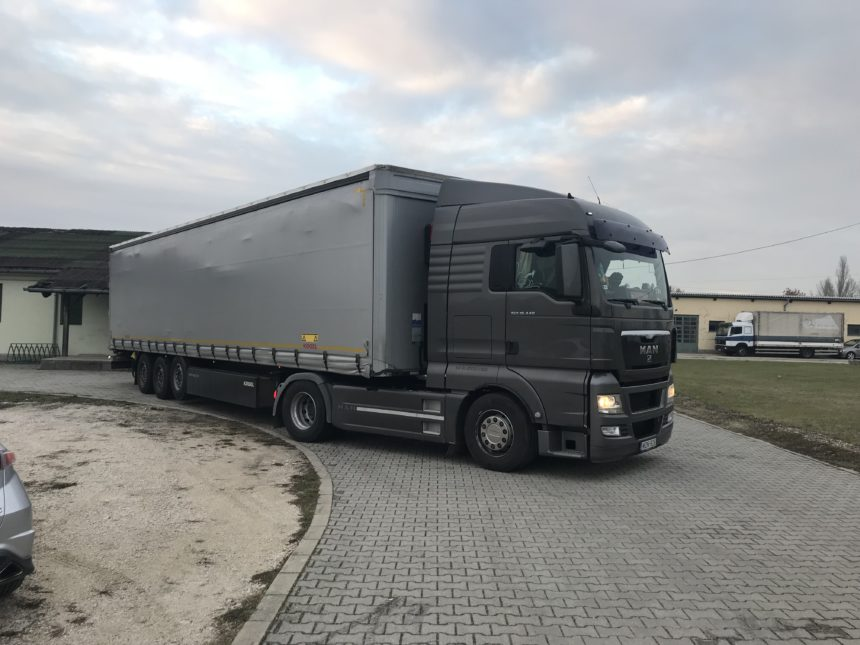 Transport nach Ungarn
