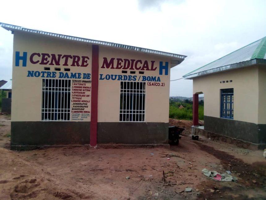 Gesundheitszentrum in Boma, Kongo