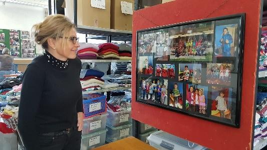 Besuch von Ulrike Charles, Rotes Kreuz Liechtenstein