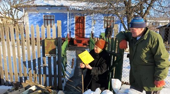 Brennholz für bedürftige Menschen in Moldawien