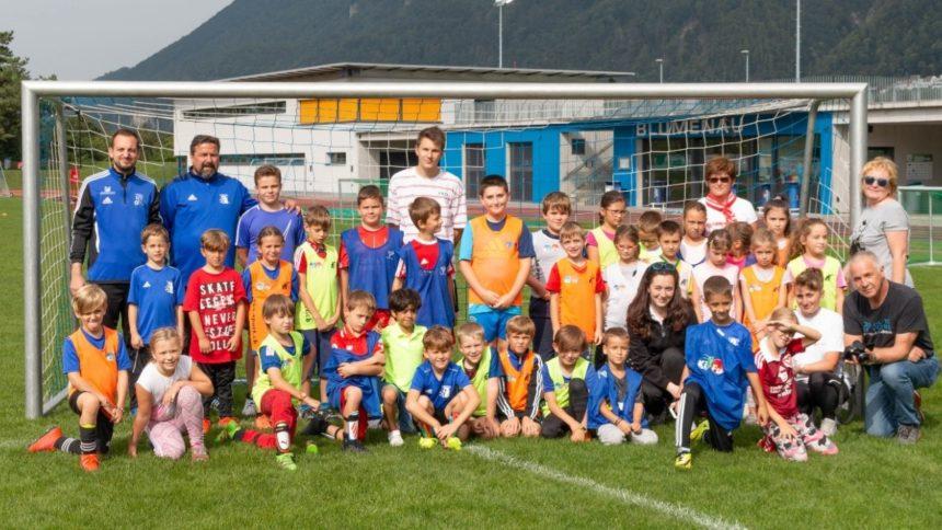 Polysportiver Nachmittag mit dem Fussballclub Triesen