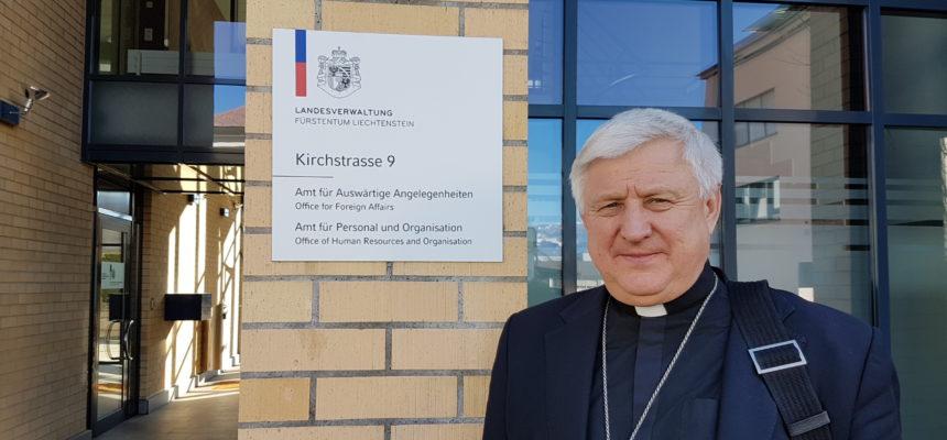 Besuch von Bischof Stanislav Shyrokoradiu aus der Ostukraine
