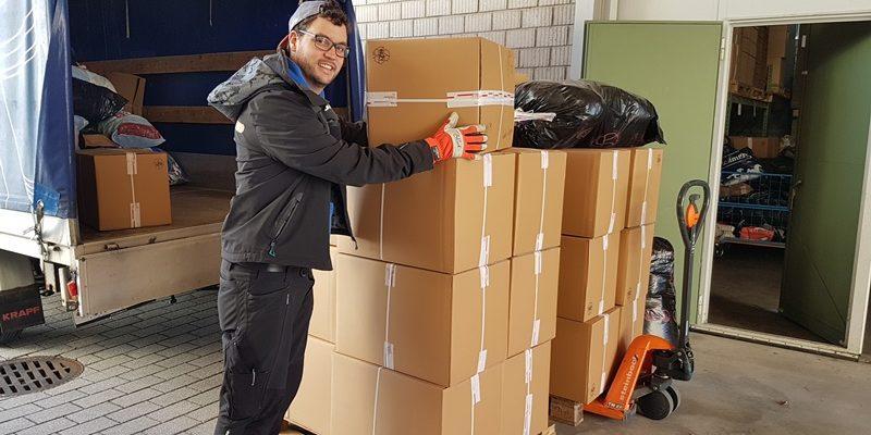 2. Hilfsgüterlieferung für Flüchtlingslager auf Lesbos