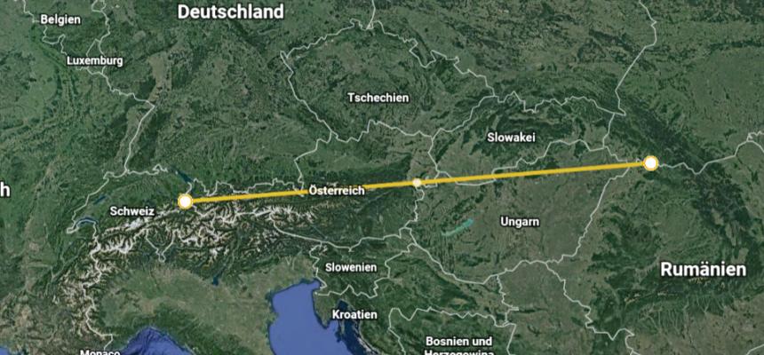 Transport in die Ukraine zur Bischof-Alexander-Khiry-Stiftung