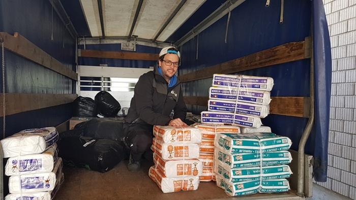 3. Hilfsgüterlieferung für Flüchtlingslager auf Lesbos