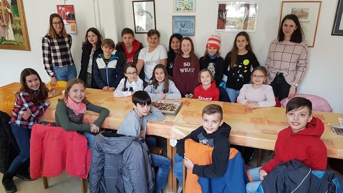 Besuch der Primarschule Schaan