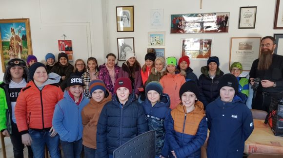 Besuch der Primarschule Triesenberg