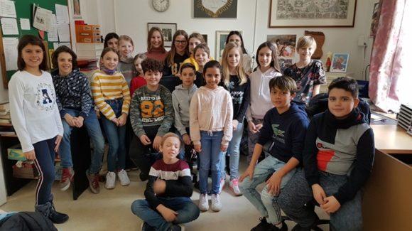 Besuch der Klasse MSb von Schaan