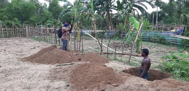 Baufortschritt Schulerweiterung Tripura