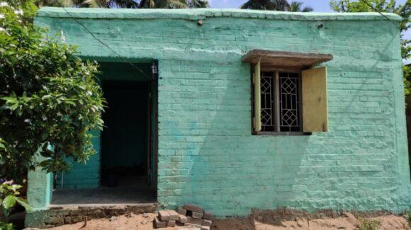 Abschlussbericht Bau von Unterkunft nach Zyklon Fani, Indien