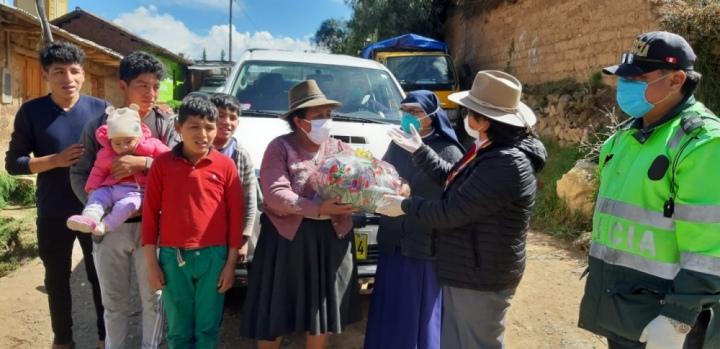 Ein Dankeschön aus Peru!