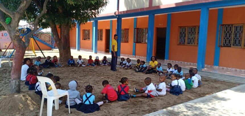 Finanzielle Unterstützung für Kindergarten in Afrika