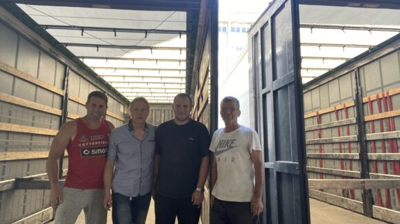 Hilfsgüterlieferung nach Gabrovo, Bulgarien
